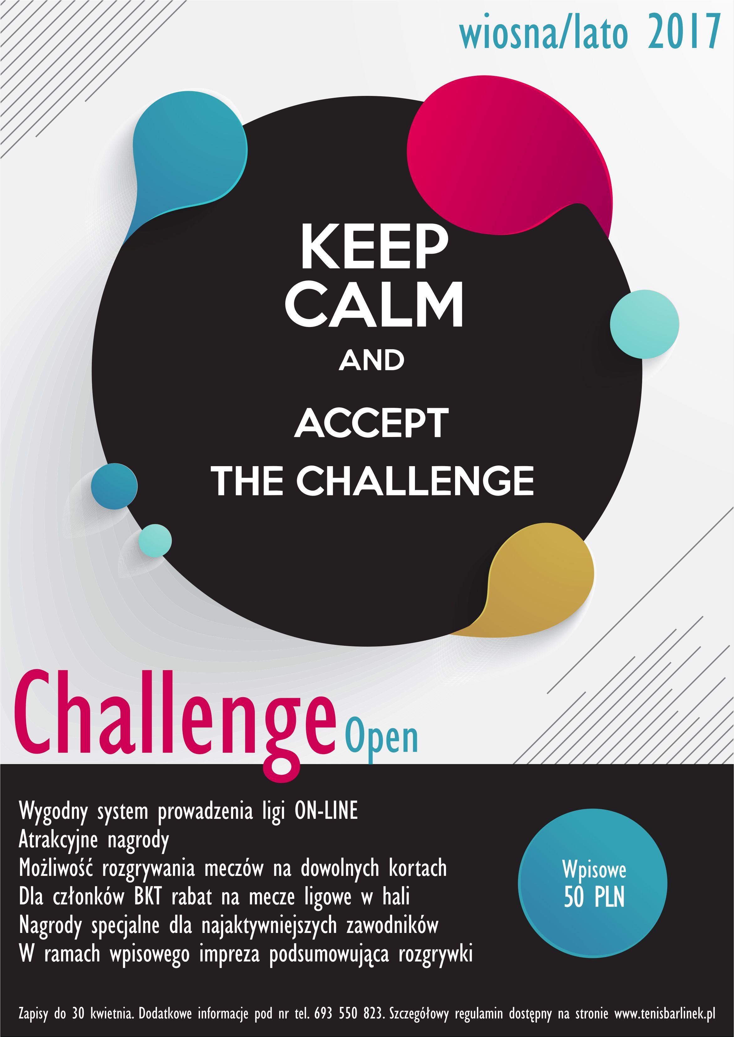 plakat Challenge